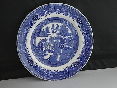 Blue Willow Victoria Porcelain Plate