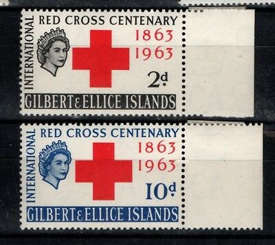 Gilbert and Ellice Islands 1963 Red Cross SG 80-81 MNH see note