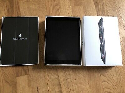 Apple Ipad Air, 32gb, wifi, space grau, mit original Case - wie neu