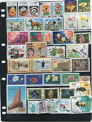 World Stamp Selection Lot W65.out Of Old Albums