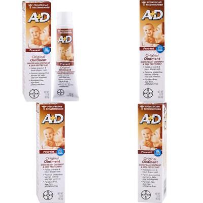 A+D Original Diaper Rash Ointment, Baby Skin Protectant With Lanolin And Petrola