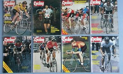 Bundle of 45 Cycling magazines ranging from 1980 to1983