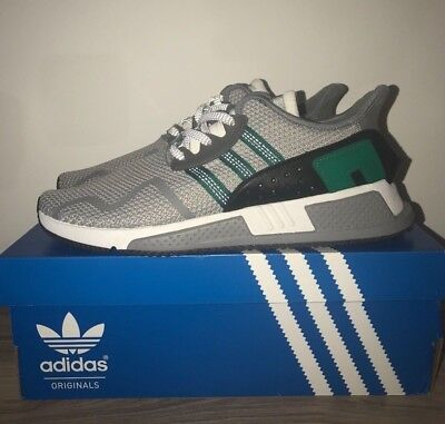 wholesale dealer e8435 67133 Chaussures Homme Adidas EQT Cushion ADV VertGris Taille 43 13