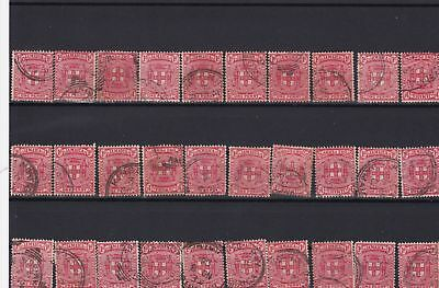 jamaica used stamps ref 13673