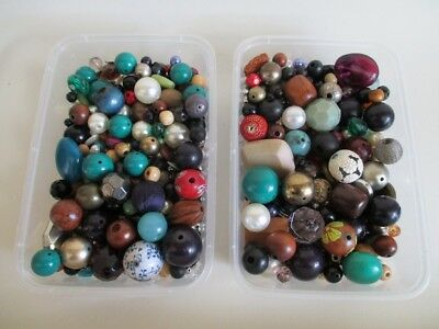 Job Lot Vintage Beads, Jewellery Making Beads, Craft, Lot 3