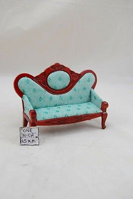 Victorian Sofa Settee T3511 miniature dollhouse furniture 1pc 1/12 scale
