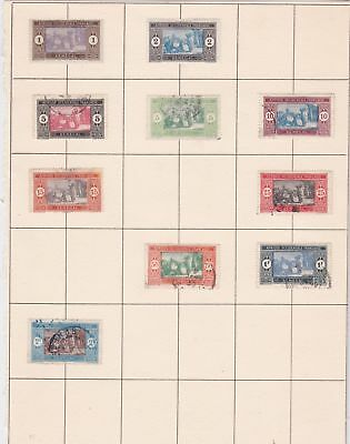 senegal stamps on page ref 10523