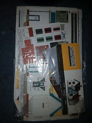 Superquick Model Building Card Kits 1:72 Scale OO HO Gauge Railways Series bnib