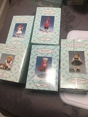 Madame Alexander Classic Collectibles Figurines - set of 5