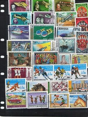 World Stamp Selection Lot W71.out Of Old Albums