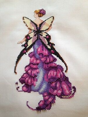 Beautiful Completed Nora Corbett (Mirabilia) Cross Stitch - Snapdragon