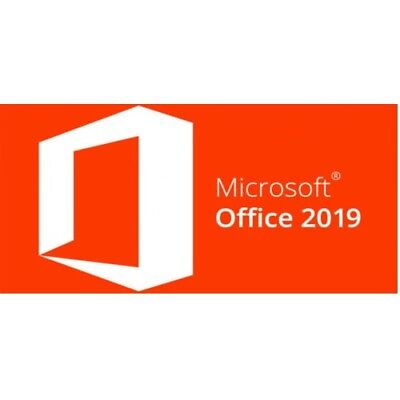 Microsoft Office 2019 Professional Plus Original Email Download Vollversion 1PC