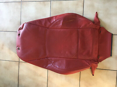 BMW Z4 Cover backrest leather left TRAUMROT  52107121709