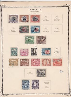 guatemala stamps page ref 17199