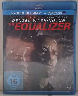 DENZEL WASHINGTON - THE EQUALIZER - 2xB-R+DC - Neu,nur Folie entfernt - (D)