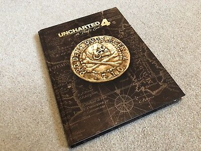 Uncharted 4 Collector's Edition Strategy Guide (Hardback)