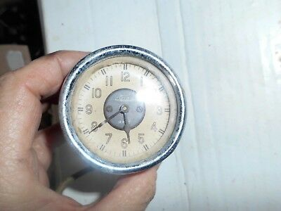 Vintage Jaeger car clock - untested