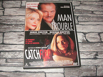 Man Trouble + Catchfire / Dvd 2 Films