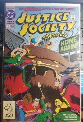 Justice Society Of America #1 (1992)