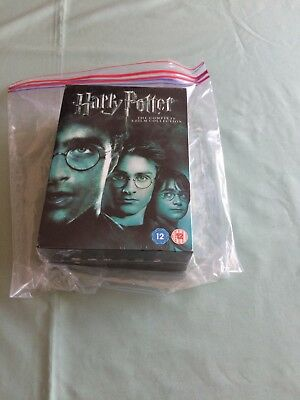 Harry Potter 1-8 Complete DVD BOX SET - NEW and SEALED