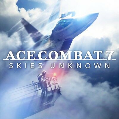Ace Combat 7 Skies Unknown - PS4 - great condition used once