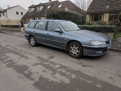 Peugeot 406 v6 estate executive (manual 194bhp)