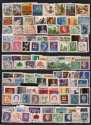 Canada-Super Selection Of Fine Used Stamps.all Different.nice Lot.read Below.
