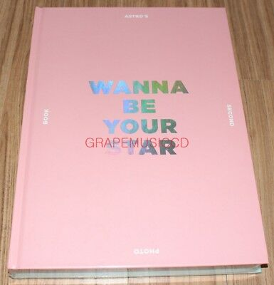 Astro Wanna Be Your Star Photo Book Photobook + Photocard + Bookmark + Poster