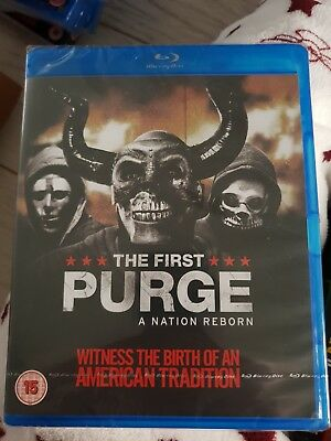 The First Purge Blu Ray NEW Sealed