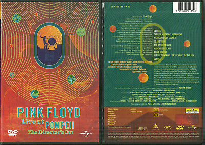 Rare / Dvd - Pink Floyd : En Concert Live At Pompeii / Comme Neuf - Like New