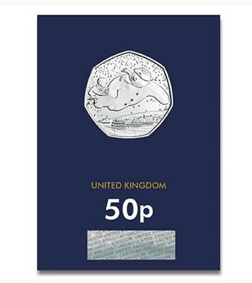 2018 UK THE SNOWMAN CERTIFIED BU 50p- OFFICIAL UK ISSUE