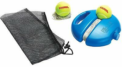 Tourna Fill and Drill Tennis Trainer with Extra Ball and String training aid hit