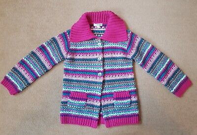 Girls M&S Knitted Jumper 5-6 Years