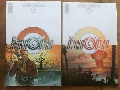 The Dying and The Dead Graphic Novels Nos 1 & 2 Hickman / Bodenheim