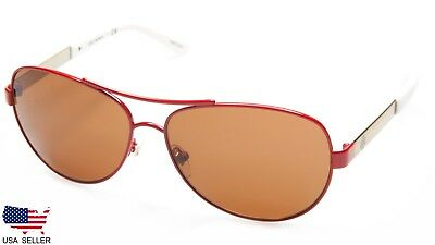 af5cbc9879d6 NEW Tory Burch TY6047 315974 SPARK /GOLD /AMBER SOLID LENS SUNGLASSES 59-13