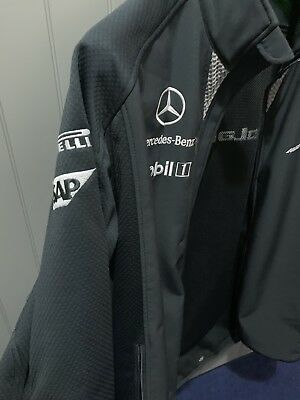 Mens M McLaren Softshell F1 Jacket