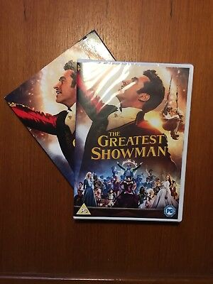 The Greatest Showman DVD. Sing along edition. Sealed with free delivery