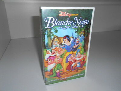 vhs Blanche Neige