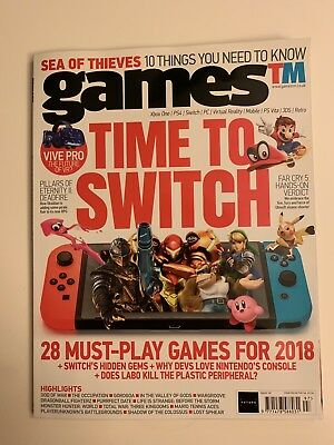 gamesTM #197 - Time To (Nintendo)Switch - Extremely Rare
