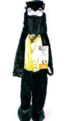 Black Cat Child Toddler Halloween Costume Size 18-24 Months NWT