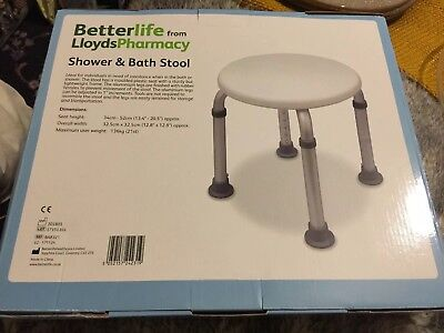 Betterlife Lloyds Pharmacy Shower & Bath Stool