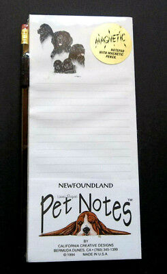 Newfoundland Magnetic Pad & Pencil Set