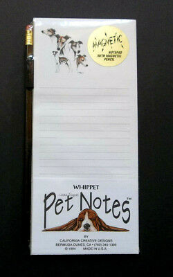 Whippet Magnetic Pad & Pencil Set
