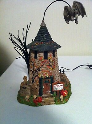 Dept 56 Halloween Haunted Tower Tours in Box