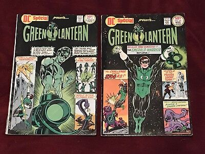 Dc Special #17 & #20 Dc Comics Fn Condition Green Lantern