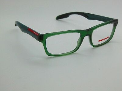 268f3741ac74 NEW Authentic PRADA SPORT VPS 07C SMK-1O1 Matte Green 55mm Rx Eyeglasses