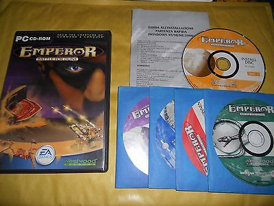 PC GAME-EMPEROR-BATTLE FOR DUNE-5 CD-Computer-Gioco-Games-MULTILINGUE ITALIANO