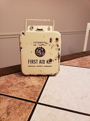 Early Mid 1900's M&s Co. First Aid Kit