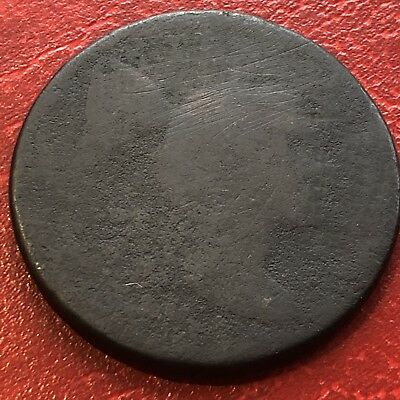 1795 Large Cent Liberty Cap Flowing Hair One Cent Circulated Cull #13605