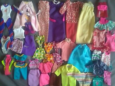 Genuine Barbie Tagged Vintage Lot Clothes